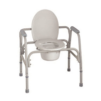 Breezy Bariatric Commode and Over Toilet Aid, Adjustable 3-in-1