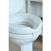 Serenity Raised Toilet Seat - 50mm - With Lid