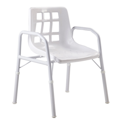 Wide Aluminium Shower Chair