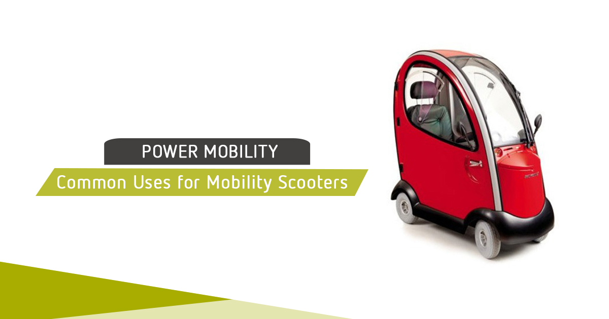 Common Uses For Mobility Scooters main image
